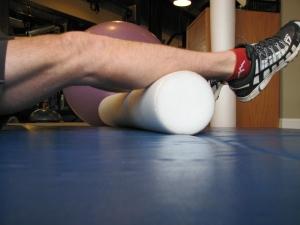 calf foam roller